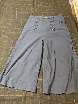 Lindy Bop Navy Nautical Culottes size 12