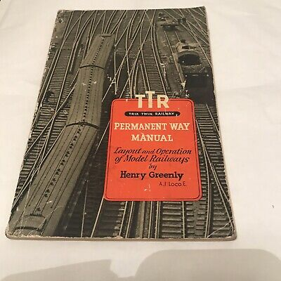 Trix Twin Railway. Permanemt Way Manual. 1951. Layout/Operation.