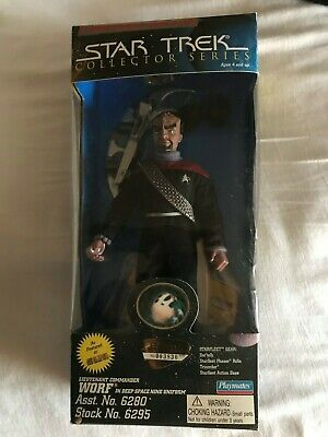"Playmates Star Trek Deep Space Nine 9"" Lt. Worf"