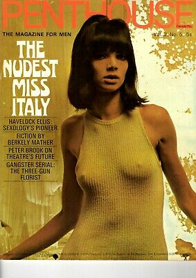 Penthouse UK Vol. 2 No. 5  The nudest Miss Italy
