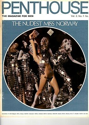 Penthouse UK Vol. 2 No. 7  The nudest Miss Norway