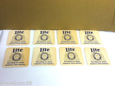16 Miller Lite  A Fine Paddy/'s Day Pilsner  Beer Coasters St Patricks Day Theme