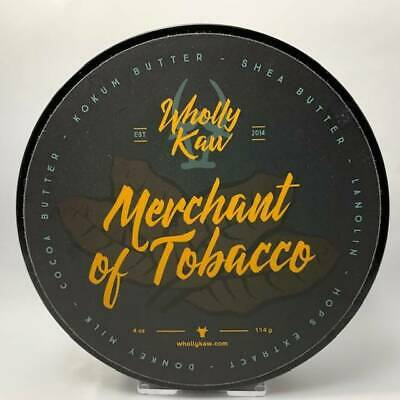Merchant of Tobacco Shaving Soap (Tallow) - by Wholly Kaw (Pre-Owned)