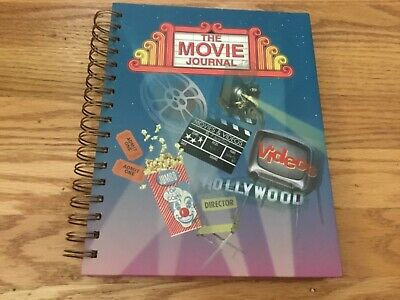 The Movie Journal  Book  Excellent