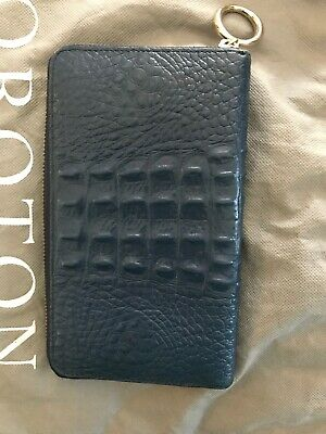 Oroton Journey Wallet Navy