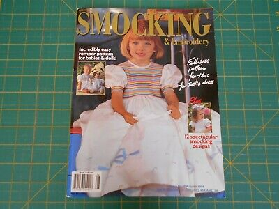 Australian Smocking & Embroidery Magazine - Issue No. 28 - Good Condition -