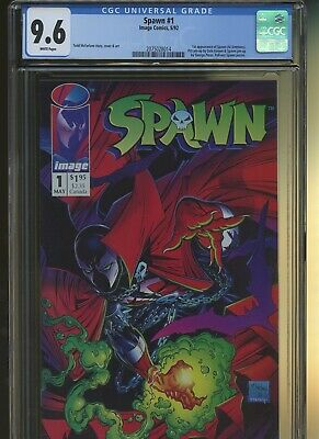 Spawn 1 CGC 9.6 | Image 1992 | 1st Spawn - Al Simmons. Keown & Perez Pin-Ups.