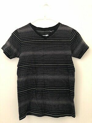 Boys Industries Kids T Shirt Black And White Size 10