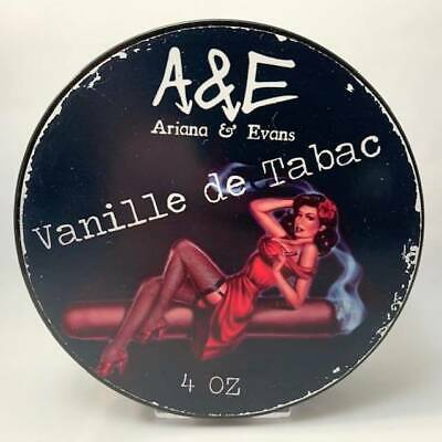 Vanille de Tabac Shaving Soap - by Ariana and Evans (Pre-Owned)