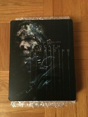 Death Stranding Special Edition PS4 Steelbook Case with Game and Pre-order DLC