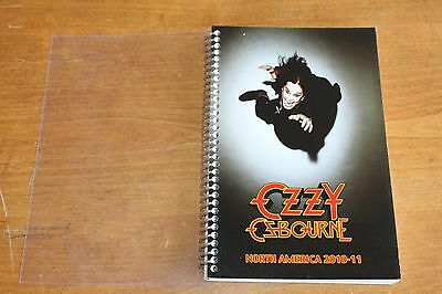Ozzy Osbourne  / TOUR ITINERARY / Scream North American Tour 2010-2011