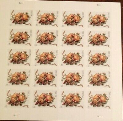 2017 USA #5200 70c Celebration Corsage Sheet of 20 Mint Forever two ounce stamps