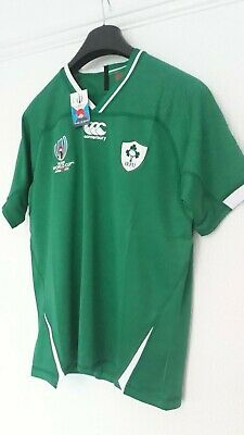Rugby Japan 2019 World Cup Ireland ( Home ) Green Supporter Shirt Kit, Bnwt