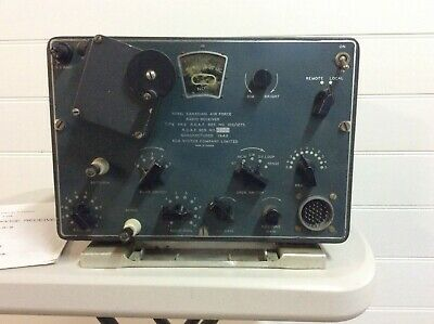 WW2 Canadian aircraft radio receiver AR - 2- Dated 1942. RCA manufacture.