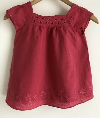 Cotton On Kids Pink Summer Top. Size 5 - Lined. Collect Or Post