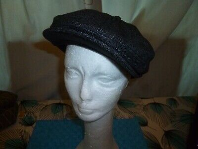 Barts Jamaica Cap - Peaky Blinders  - Brand New With Tags Size M -  Dark Heather