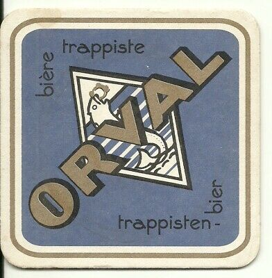 bierviltje sous-bock coaster from collection sottobicchiere #2696 Orval