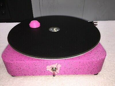 Record Cleaner / Vinyl Record Motorized Cleaning Machine AC Motor