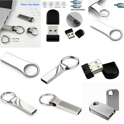 UK Metal USB 2.0/3.0 Memory Stick Pen Thumb Flash Drive UDisk 64G 32G 16G 8G lot