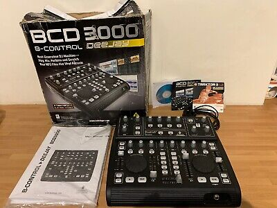 Behringer BCD3000 B-Control Deejay Machine Excellent Condition