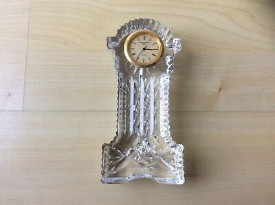 Attractive Waterford Crystal Carriage Clock