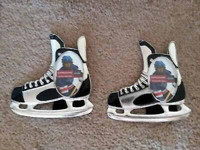 Pair of Expressions Hockey Skate Picture Frames for 2x3 Pictures
