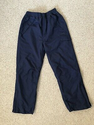PETER STORM Children's Waterproof Trousers, Navy, Age 9-10, NEVER WORN - £10