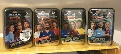 Topps Match Attax 2019/20 Mega Tins X 4 Brand New Sealed 19/20 League Season