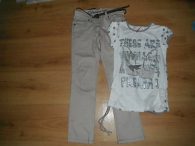 trousers and top age 7-8