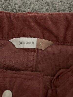 John Lewis Girls Trousers Age 5 Years