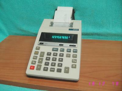 Calculadora con impresora CASIO JR-110 calculator printer retro vintage.