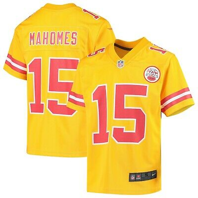 Kansas City Chiefs Patrick Mahomes YOUTH Jersey Size S M L XL Nike Inverted -$75
