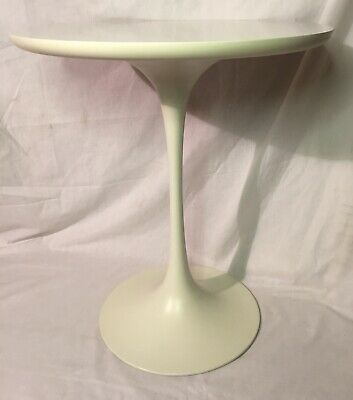ARCANA TULIP SIDE TABLE WHITE 60's MODERN STYLISH GREAT EXAMPLE