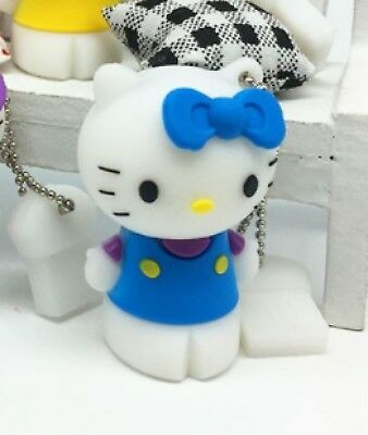 16GB Hello Kitty USB 2.0 Flash Pen Drive Memory Stick Girls Kids New 16 gb Blue
