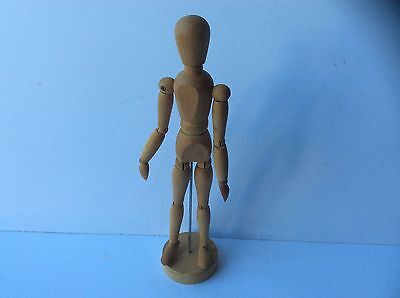 "Artists Wooden 12"" Manikin Figure"