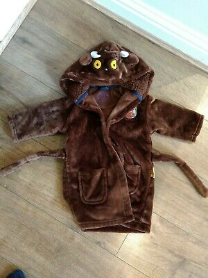 Boys Girls Dressing Gown 1-1.5 Years 12-18 Months