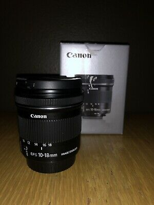Canon EF-S 10-18mm F/4.5-5.6 IS STM Lens + Fotodiox Pro EF-EOS Auto Adapter