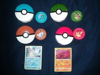 2019 McDonalds Pokemon toy and Card lot