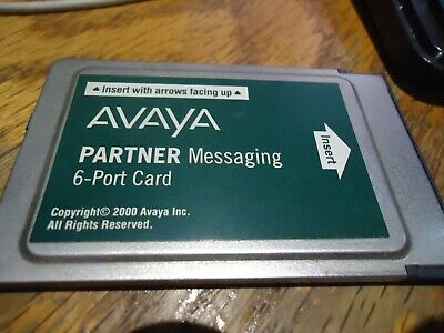 Avaya Lucent Partner Messaging 6-Port Voicemail Card 515C FREE SHIPPING