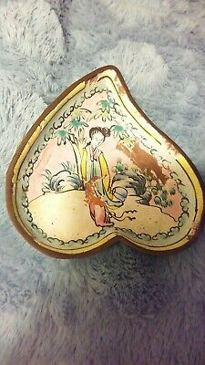 Chinese heart shape dish very old .rare?