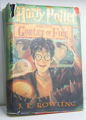 Harry Potter and The Goblet of Fire by J.K.Rowling 1st Edition 2000 USA