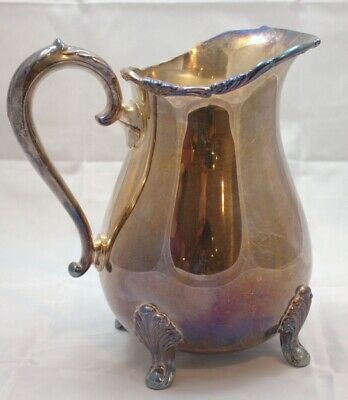 Towle Silverplate Water Pitcher Old Master