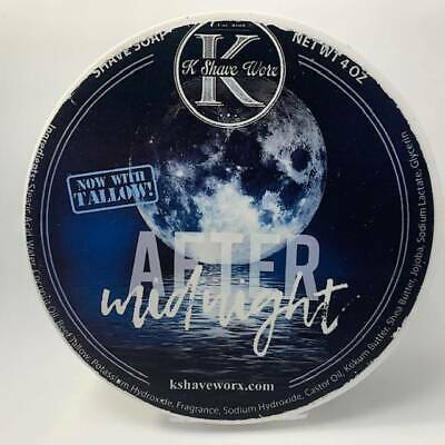 After Midnight Shaving Soap - by K Shave Worx (Pre-Owned)