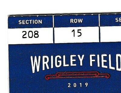 4 Chicago Cubs Cincinnati Reds hard tickets 9/4 Friday 09/04/2020 Wrigley Field