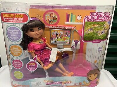 Dora The Explorer Girls Dora Links Doll Computer Doll with accessories