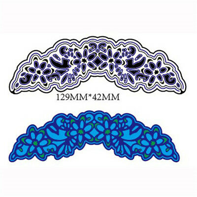 3pcs Hollow Lace Metal Cutting Dies For DIY Scrapbooking Album Paper UQ