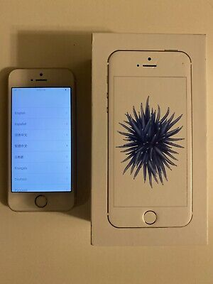 Apple iPhone SE - 64GB - Silver Verizon A1662 CDMA + GSM Unlocked 3 Day Auction