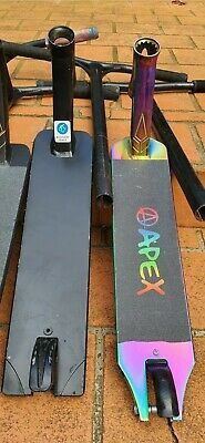 4 x Apex, Prodigy and others Scooter deck and handle bar