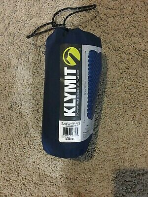 Klymit Static V Lightweight Sleeping Pad (Navy) Open Package
