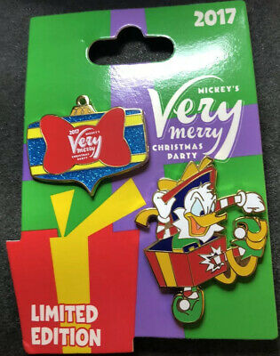 Pin 125405 WDW - MVMCP 2017 - Donald Duck and Ornament Set